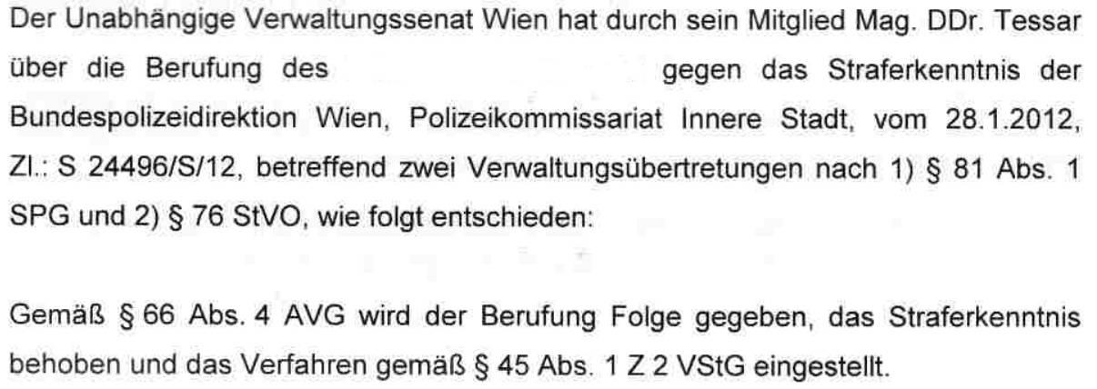 UVS Wien Berufung_nowkr 2012